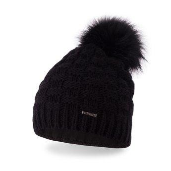 Czapka zimowa damska czarna