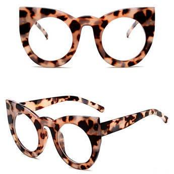 Okulary MIAU cętki z filtrem UV
