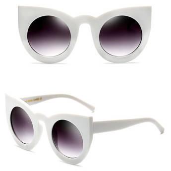 Okulary MIAU przeciwsłoneczne białe