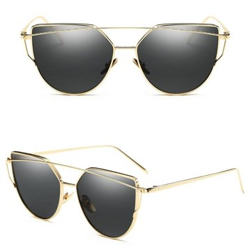 Okulary szyk czarne