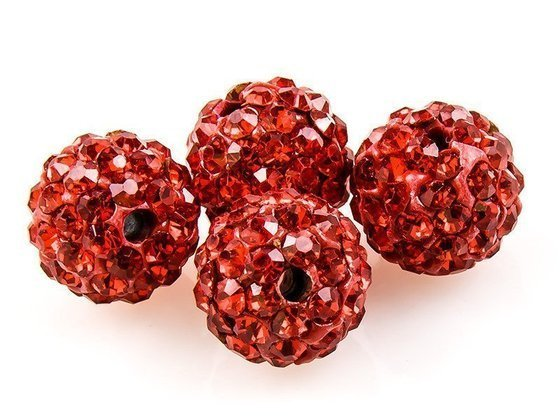 SHAMBALLA KULKA SWAROVSKI LIGHT SIAM 227 10mm